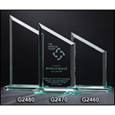 "Zenith Series Glass Awards  1/2"" Thick"
